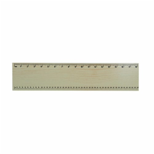 Guidecraft G6517 Ruler Natural Perspective: front
