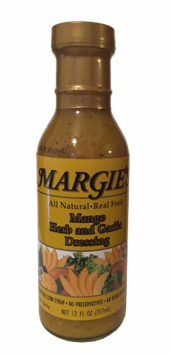 Margie's Mango Herb & Garlic Dressing Perspective: front