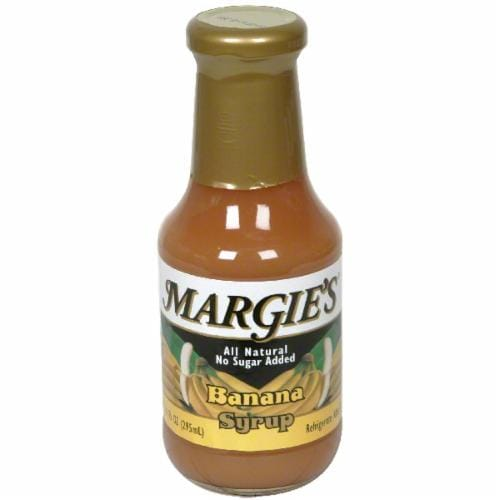 Margie's Banana Syrup Perspective: front