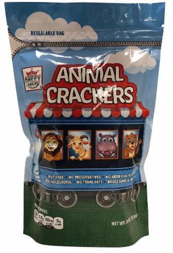 Happy Snacks Original Animal Cracker Cookies Perspective: front