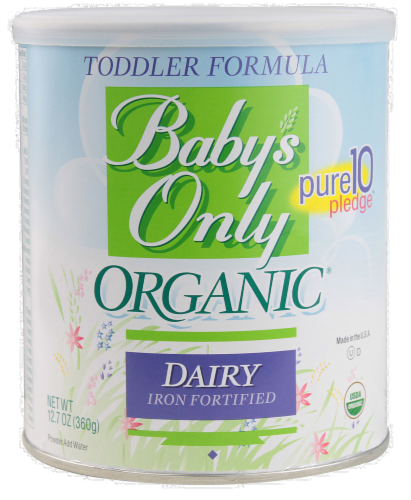 Baby's Only Organic Toddler Formula Perspective: front