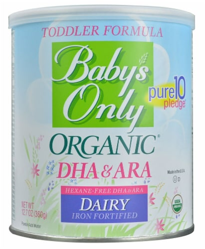 Nature's One  Baby's Only Organic DHA & ARA Toddler Formula Perspective: front