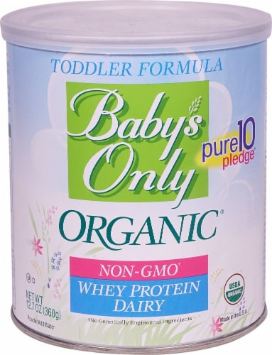 Nature's One  Baby's Only Organic Whey Protein Dairy Toddler Formula Perspective: front