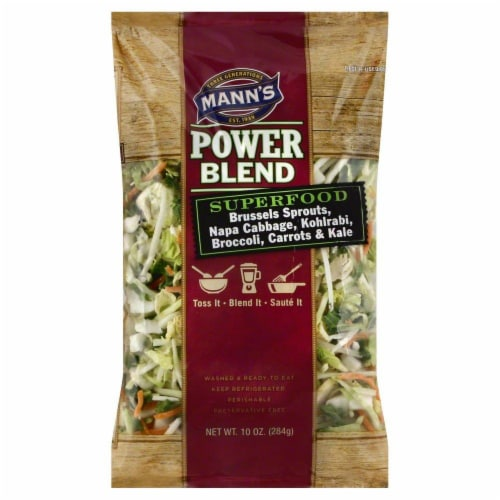 Mann's Superfood Power Blend Perspective: front