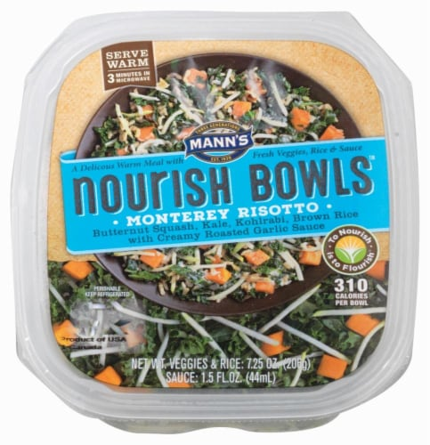 Mann's Nourish Bowls Monterey Risotto Perspective: front