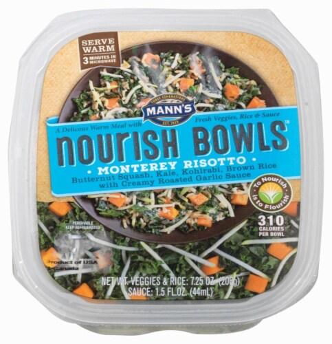 Mann's Nourish Bowls Monterey Risotto Perspective: front
