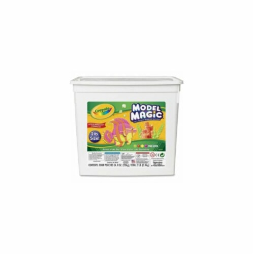 Crayola CYO232413 Neon Modeling Clay Perspective: front