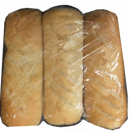 Bakery Fresh Hoagie Rolls Sliced 6ct Perspective: front