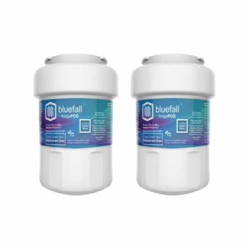 Bluefall GE MWF SmartWater Compatible Water Filter ONE Filter Perspective: front