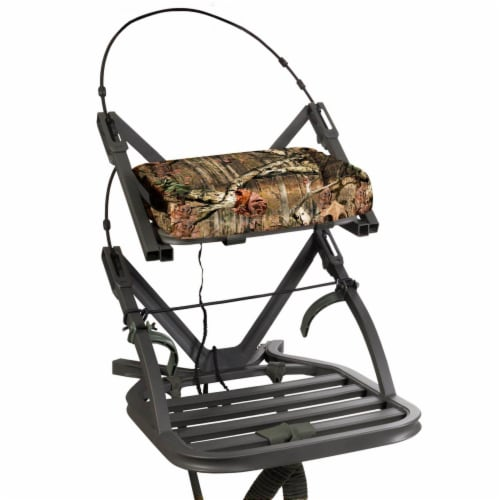Summit Openshot 81115 SD Self Climbing Treestand for Bow & Rifle Deer Hunting Perspective: front