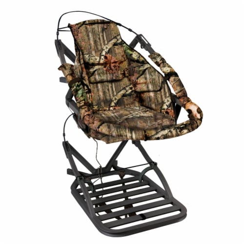 Summit 180° Max SD Self Climbing Treestand for Bow & Rifle Deer Hunting   81116 Perspective: front