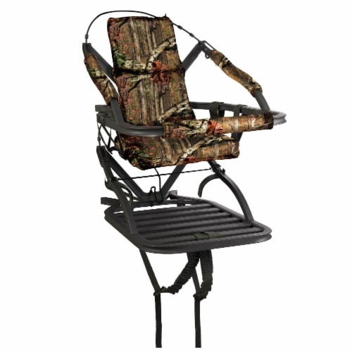 Summit Titan SD Self Climbing Portable Treestand Bow & Rifle Deer Hunting 81118 Perspective: front