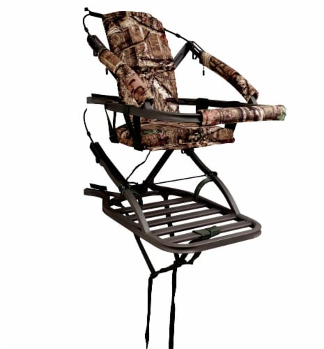 Summit Viper SD 81120 Self Climbing Treestand 300 Lbs - Bow & Rifle Deer Hunting Perspective: front