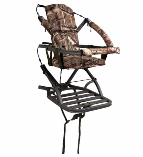Summit Mini Viper SD 81124 Self Climbing Bow & Rifle Hunting Treestand - 300 Lbs Perspective: front