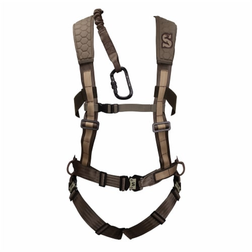 Summit SU83081 300 Pound Max Hunting Sport Treestand Safety Pro Harness, Medium Perspective: front