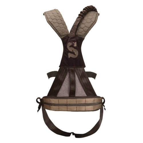 Pradco Summit Treestand Men's Pro Safety Harness 300-Lbs Max, Large | 83082 Perspective: front