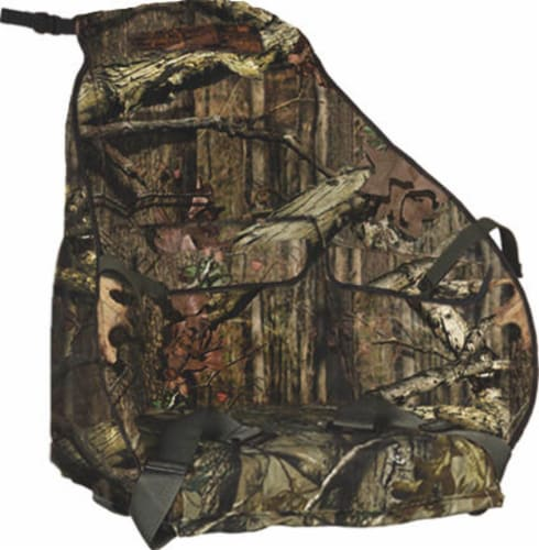 Summit Treestand Surround Seat w/ Mossy Oak Cushion - Fits Viper, Titan, & More Perspective: front