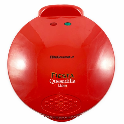 Elite by Maxi-Matic Fiesta Quesadilla Maker - Red Perspective: front