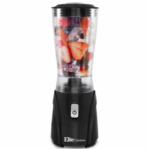 Maximatic 14 oz Elite Cuisine Personal Drink Mixer Blender Perspective: front