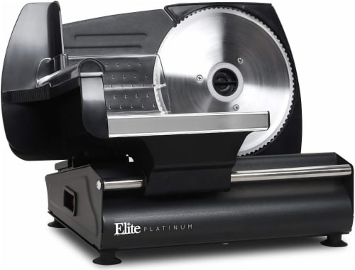 Elite by Maxi-Matic Electric Deli Food Meat Slicer Perspective: front