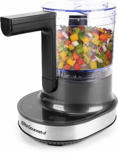Elite by Maxi-Matic HoverChop 4-cup Food Chopper Perspective: front
