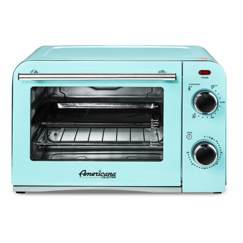 Elite Gourmet Americana Collection Retro 4-Slice Toaster Oven Perspective: front