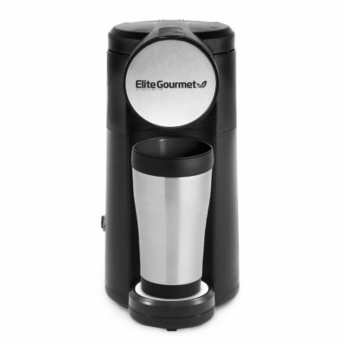 Elite Gourmet K-Cup Personal Coffee Maker Perspective: front