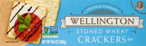 Wellington Stoned Wheat Crackers Perspective: front