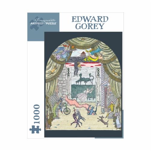 Pomegranate Communications Inc. Edward Gorey Untitled Puzzle Perspective: front