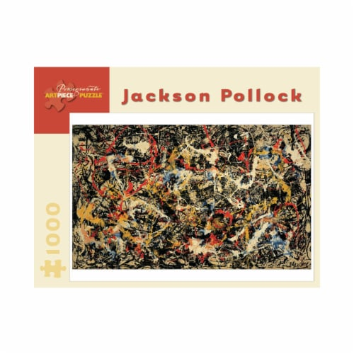 Pomegranate Communications Inc. Jackson Pollock Convergence Puzzle Perspective: front