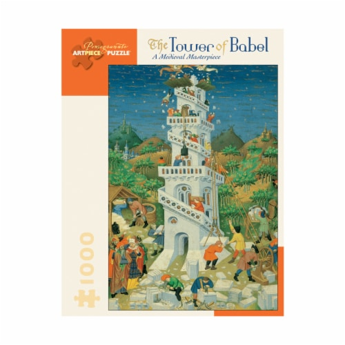 Pomegranate Communications Inc. The Tower of Babel: A Medieval Masterpiece Puzzle Perspective: front