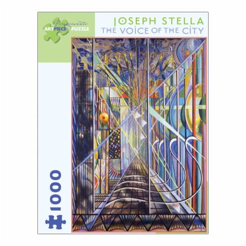 Pomegranate Communications Inc. Joseph Stella The Voice of the City Puzzle Perspective: front