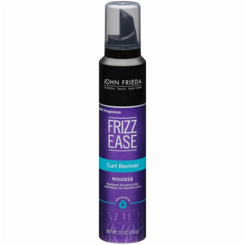 John Frieda Frizz Ease Curl Reviver Styling Mousse Perspective: front