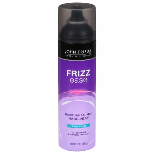 John Frieda Frizz Ease Moisture Barrier Firm Hold Hairspray Perspective: front