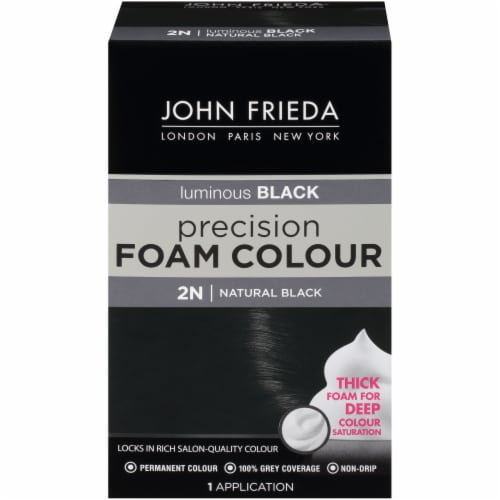 John Frieda 2N Natural Black Precision Foam Color Perspective: front