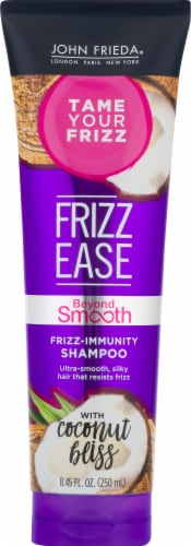 John Frieda Frizz Ease Beyond Smooth Frizz-Immunity Shampoo Perspective: front