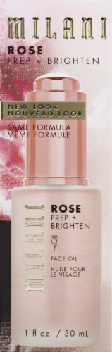 Milani Prep+Brighten Rose Face Oil Perspective: front