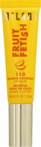 Milani Fruit Fetish 110 Mango Coconut Lip Balm Perspective: front