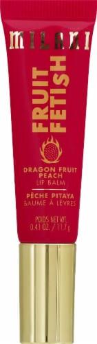 Milani Fruit Fetish Dragon Fruit Peach Lip Balm Perspective: front