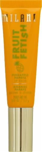 Milani Fruit Fetish Pineapple Papaya Lip Balm Perspective: front