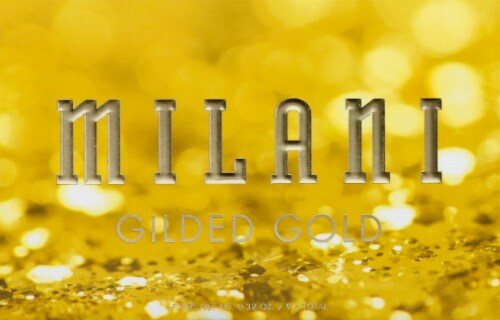Milani Gilded Gold Eyeshadow Palette Perspective: front