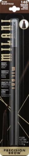 Milani 140 Medium Brown Precision Brow Pencil Perspective: front