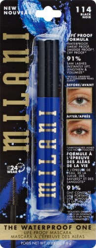 Milani Waterproof One 114 Black Mascara Perspective: front
