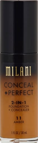 Milani Conceal + Perfect Amber 2 in 1 Foundation Concealer Perspective: front