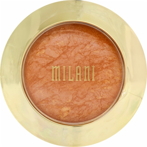 Milani Glow Baked Bronzer Perspective: front