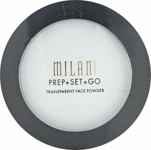 Milani Prep Set and Go Transparent Face Powder Perspective: front