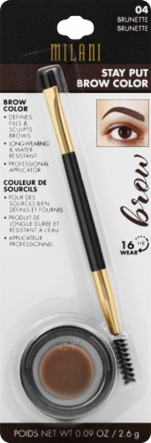 Milani 04 Brunette Stay Put Brow Color Perspective: front