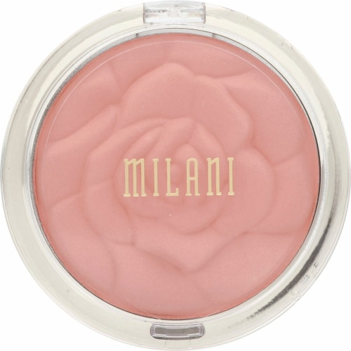 Milani Tea Rose Powder Blush Perspective: front