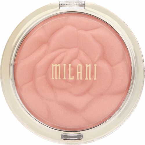 Milani Blossomtime Rose Powder Blush Perspective: front