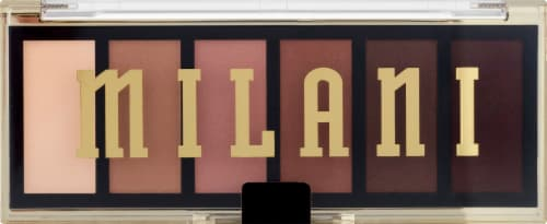 Milani Most Wanted Partner in Crime Eyeshadow Palette Perspective: front